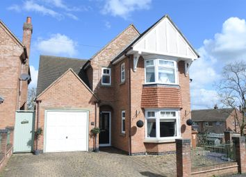 Thumbnail 4 bedroom detached house for sale in Woodland Avenue, Melton Mowbray