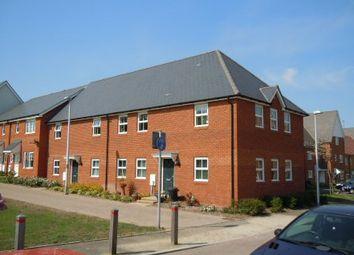 Thumbnail 1 bed flat to rent in Conqueror Drive, Sovereign Quarter, Gillingham, Kent