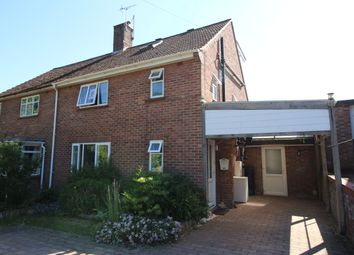 Thumbnail 4 bed semi-detached house for sale in Durban Close, Halesworth