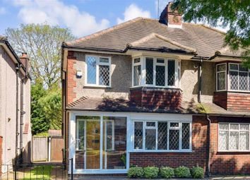 Thumbnail 3 bedroom semi-detached house for sale in Hackbridge Park Gardens, Carshalton, Surrey