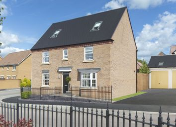"Thumbnail 5 bedroom detached house for sale in ""Moorecroft"" at Merthyr Road, Llanfoist, Abergavenny"