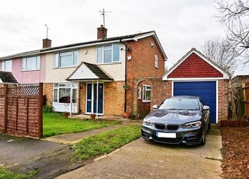 Thumbnail 3 bed semi-detached house for sale in Appleford Road, Southcote, Reading