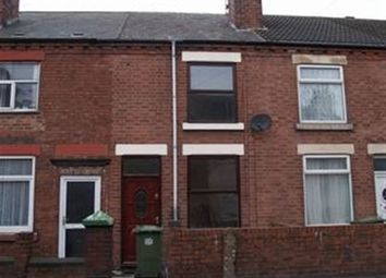 Thumbnail 2 bedroom terraced house to rent in Leabrooks Road, Somercotes, Alfreton