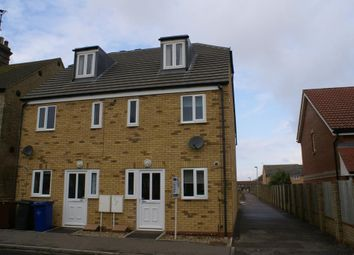 Thumbnail 3 bed semi-detached house to rent in Field Terrace Road, Newmarket