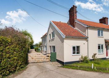 Thumbnail 4 bedroom end terrace house for sale in Long Green, Bedfield, Woodbridge