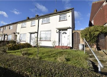 Thumbnail 2 bedroom end terrace house for sale in Longbury Drive, Orpington, Kent