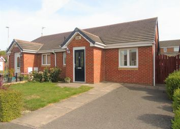 Thumbnail 2 bed semi-detached bungalow for sale in Hartington Way, Oakfield Lodge, Darlington