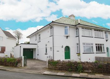 Thumbnail 4 bed semi-detached house for sale in Glentor Road, Hartley, Plymouth