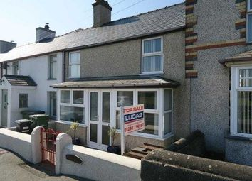 Thumbnail 3 bed terraced house for sale in Bodffordd, Llangefni
