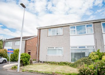 Thumbnail 2 bed flat for sale in Crathes Avenue, Stenhousemuir