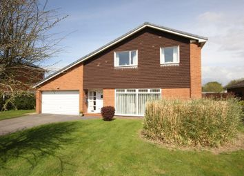 Thumbnail 4 bed detached house for sale in Paddock Drive, Parkgate, Cheshire