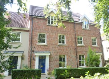 Thumbnail 4 bedroom terraced house for sale in The Willows, Norwich