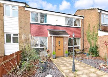 Thumbnail 3 bed terraced house for sale in Fir Tree Grove, Lords Wood, Chatham, Kent