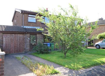 Thumbnail 4 bed semi-detached house for sale in Browmere Drive, Croft, Cheshire