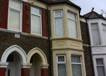 Thumbnail 4 bed terraced house to rent in Manor Street, Cardiff