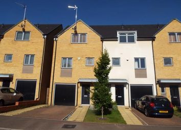 Thumbnail 4 bedroom town house for sale in Lulworth Close, Stevenage, Hertfordshire, England