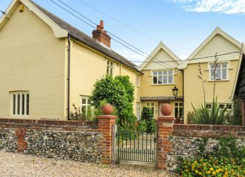 Thumbnail 4 bed semi-detached house for sale in Redgrave Road, South Lopham, Diss