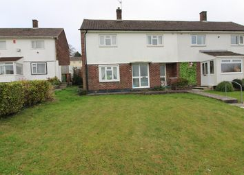 Thumbnail 2 bed semi-detached house for sale in Berwick Avenue, Crownhill, Plymouth