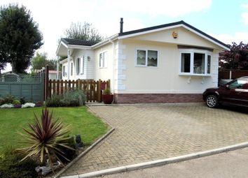 Thumbnail 3 bed mobile/park home for sale in Clanna Country Park, Alvington, Lydney