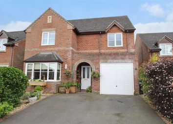 Thumbnail 4 bed detached house for sale in Alma Close, West Felton, Oswestry