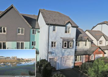 Thumbnail 3 bed town house for sale in The Old Wharf, Oreston, Plymouth, Devon