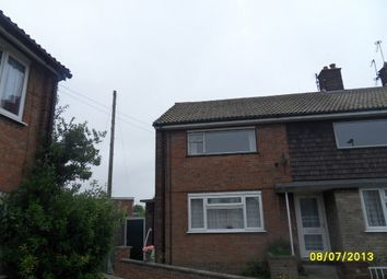 Thumbnail 2 bedroom flat to rent in Brasenose Avenue, Gorleston, Great Yarmouth