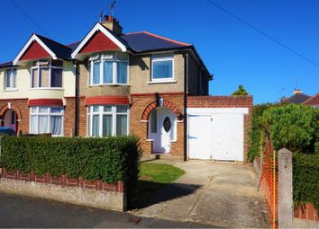 Thumbnail 3 bed semi-detached house for sale in Burford Avenue, Swindon