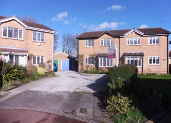 Thumbnail 4 bedroom semi-detached house for sale in Savile Close, Beverley