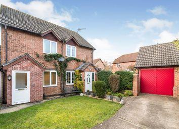 Thumbnail 2 bed semi-detached house for sale in Dove Close, Swallowfields, Andover