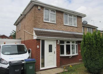 Thumbnail 3 bed detached house to rent in Macdonald Close, Tividale