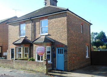 Thumbnail 2 bed semi-detached house for sale in Grove Road, Ash Vale