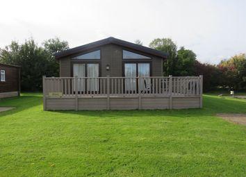 Thumbnail 3 bed mobile/park home for sale in Ranksborough Drive, Langham, Oakham