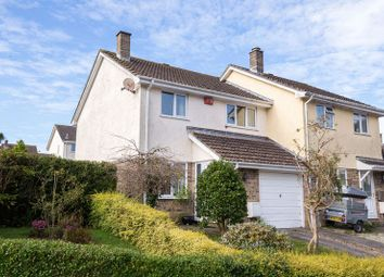 Thumbnail 3 bed semi-detached house for sale in Carne View Road, Probus, Truro