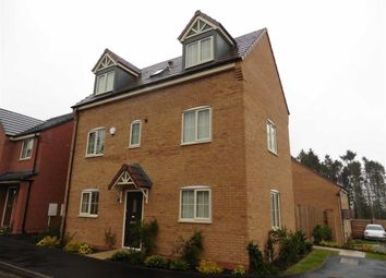Thumbnail 4 bed detached house to rent in Convent Drive, Stoke Golding, Nuneaton
