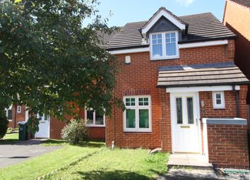 Thumbnail 2 bed semi-detached house to rent in Reeves Close, Tipton