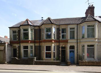 Thumbnail 3 bed terraced house for sale in Fairoak Road, Roath, Cardiff