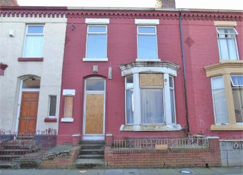 Thumbnail 3 bedroom terraced house for sale in St. Andrew Road, Anfield, Liverpool