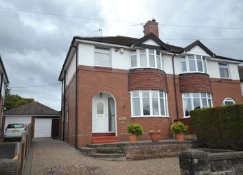Thumbnail 3 bed semi-detached house for sale in Margaret Avenue, Trentham, Stoke-On-Trent