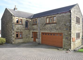 Thumbnail 5 bed detached house for sale in Mossy Bank Close, Queensbury, Bradford