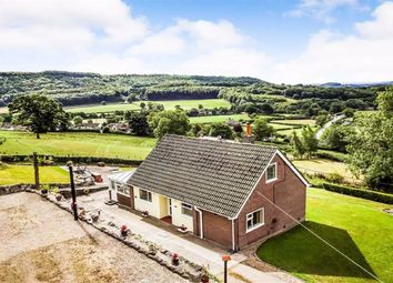 Thumbnail 3 bedroom detached bungalow for sale in Blodwel Bank, Treflach, Oswestry