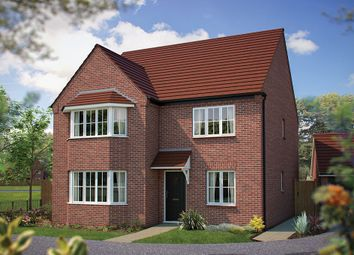 "Thumbnail 4 bed detached house for sale in ""The Tingewick"" at Main Street, Tingewick, Buckingham"