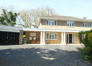 Thumbnail 5 bed detached house to rent in Firbank Lane, Woking