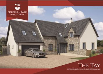 Thumbnail 5 bed detached house for sale in Needburn Park, Methven