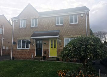 Thumbnail 3 bed semi-detached house for sale in Laurel Court, Ryhill, Wakefield