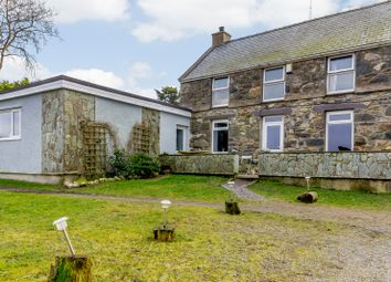 Thumbnail 3 bed detached house for sale in Fron Oleu, Nasareth, Caernarfon, Gwynedd