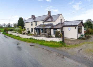 Thumbnail 4 bed detached house for sale in Dobsons Bridge, Whixall, Whitchurch, Shropshire