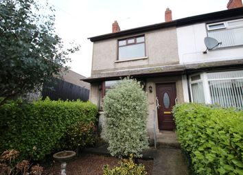 Thumbnail 2 bed terraced house for sale in Elmwood Drive, Bangor