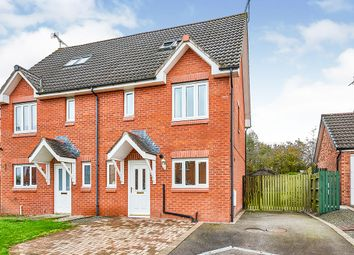 Thumbnail 4 bed semi-detached house for sale in Caulstran Street, Dumfries, Dumfries And Galloway
