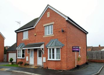 Thumbnail 2 bed semi-detached house for sale in Riverside Close, Bridgwater