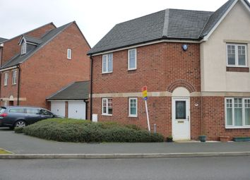 Thumbnail 3 bed semi-detached house to rent in Caroline Court, Burton-On-Trent